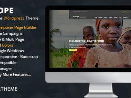Ahope v2.2.5 - Nonprofit WordPress Theme