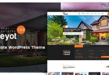 BEYOT v1.5.1 - WordPress Real Estate Theme