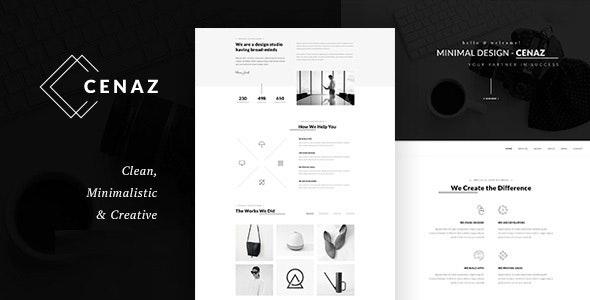 CEZAN v1.1.6 - Minimal Multipurpose WordPress Theme