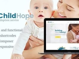ChildHope v1.1.0 - Child Adoption Service & Charity Nonprofit WordPress Theme
