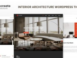 Concreate v1.2 - Interior Architecture Interactive WordPress Theme