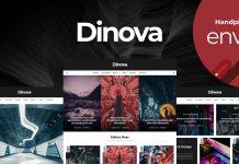 Dinova v1.4.1 - Alternative Magazine Gutenberg Theme