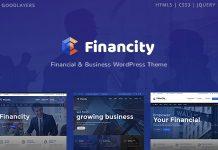 Financity v1.2.3 - Business / Financial / Finance WordPress Theme