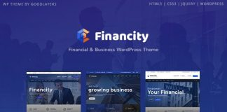 Financity v1.2.3 - Business / Financial / Finance WordPress Theme