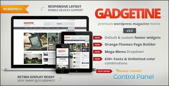Gadgetine v3.2.0 - WordPress Theme for Premium Magazine