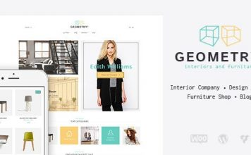 Geometry v1.9.1 - Interior Design & Furniture Shop WordPress Theme