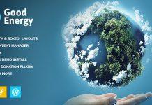 Good Energy v1.6 - Ecology & Renewable Power Company WordPress Theme