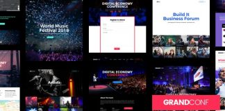 Grand Conference v3.3 - Event WordPress