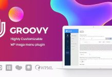 Groovy Menu v1.8.11 - WordPress Mega Menu Plugin