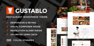 Gustablo v1.4 - Restaurant & Cafe Responsive Theme