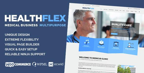 HEALTHFLEX v1.6.2 - Medical Health WordPress Theme