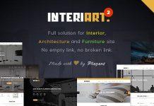 InteriArt v2.8.6 - Furniture & Interior WordPress Theme