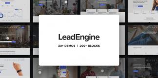 LeadEngine v1.8.0 - Multi-Purpose Theme with Page Builder
