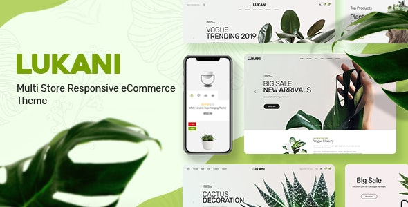 Lukani v1.0 - Plant Store Theme for WooCommerce WordPress