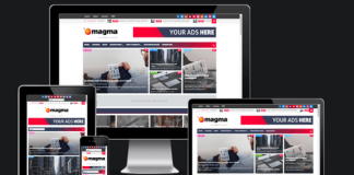 Magma Responsive Magazine Blogger Template v2.0