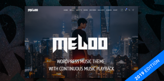 Meloo v2.5.4 - Music Producers, DJ & Events Theme for WordPress