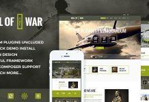 Military Service & Veterans Club Volunteer v1.9.1 - WordPress Theme