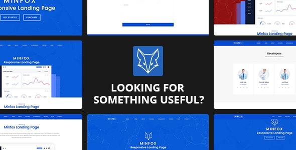 Minfox v1.4.0 - Software Landing Page