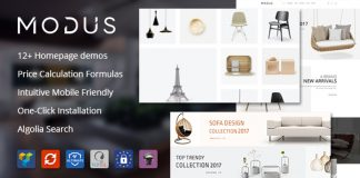 Modus v1.5.3 - Modern Furniture WooCommerce Theme