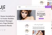 Muji v1.0.1 - Beauty Shop & Spa Salon WordPress Theme