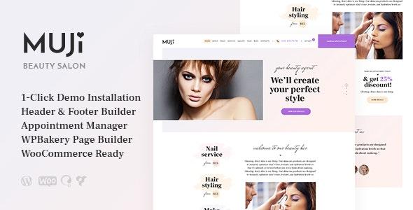 Muji v1.0.1 - Beauty Shop & Spa Salon WordPress Theme