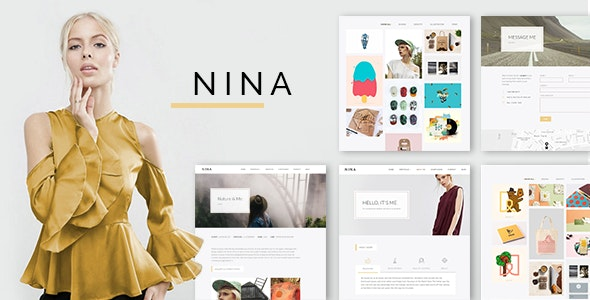 Nina v1.0.2 - A Minimal and Creative Portfolio WordPress Theme