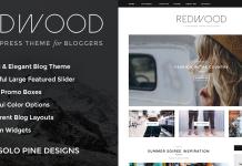 Redwood v1.7.1 - A Responsive WordPress Blog Theme