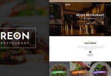 Reon v1.0.7 - Restaurant WordPress Theme