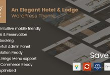 Solaz v1.1.7 - An Elegant Hotel & Lodge WordPress Theme