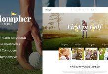 Triompher v1.1.0 - Golf Course & Sports Club WordPress Theme