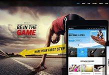 Whistle v3.0 - Sports Club WordPress Theme