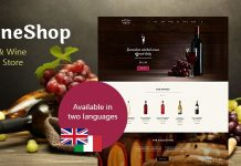 WineShop v2.3.1 - Food & Wine Online Store WordPress Theme
