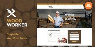 WoodWorker v3.5 - Carpenter Handy Service WordPress Theme