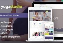 Yogastudio v1.7.2 - Gym and Healthcare WordPress Theme