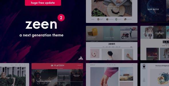 Zeen v2.4.2 - Next Generation Magazine WordPress Theme