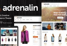 Adrenalin v2.0.6 - Multi-Purpose WooCommerce Theme