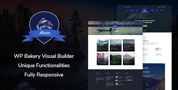 Alvaro v1.0 - Hobby Multipurpose WordPress Theme