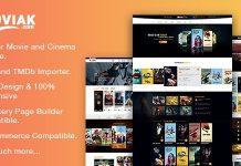 AmyMovie v3.1.1 - Movie and Cinema WordPress Theme