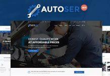 Autoser v1.0.6 - Car Repair and Auto Service Theme