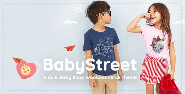 BabyStreet v1.2.6 - WooCommerce Theme for Kids Stores and Baby Shops Clothes and Toys