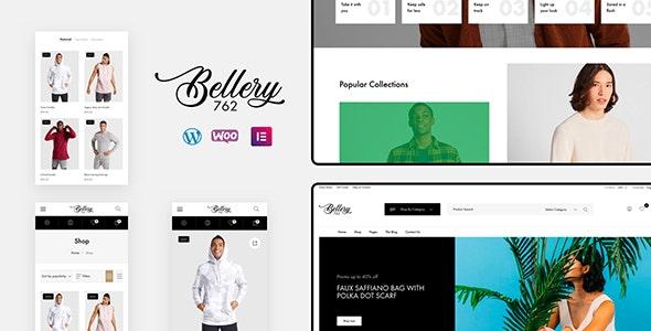 Bellery v1.0.2 - Modern & Minimal WooCommerce Theme