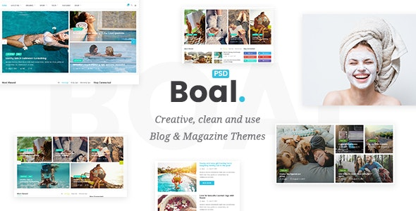 Boal v2.0.0 - Newspaper Magazine News WordPress Theme