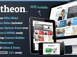 Bretheon v2.4.3 - WordPress Theme