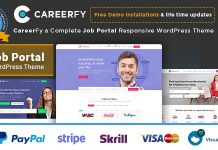 Careerfy v2.5.8 - Job Board WordPress Theme