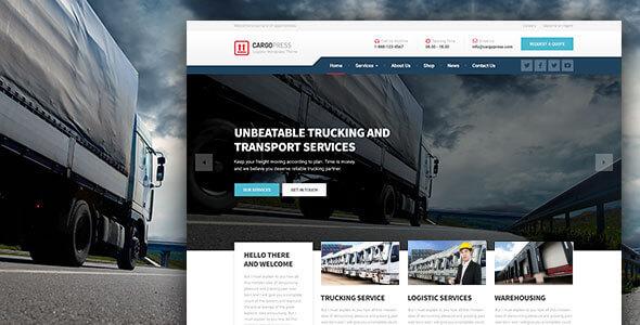CargoPress v1.12.4 - Logistic, Warehouse & Transport WP