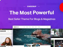 CheerUp v6.1.4 - Blog / Magazine - WordPress Blog Theme