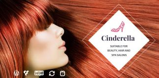 Cinderella v2.2.1 - Theme for Beauty, Hair and SPA Salons