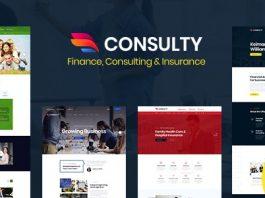 Consulty v1.0 - Business Finance WordPress Theme