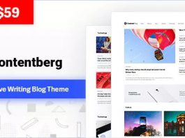 Contentberg Blog v1.7.0 - Content Marketing Blog