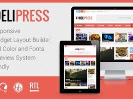 DeliPress v3.6.6.8 - Magazine and Review WordPress Theme